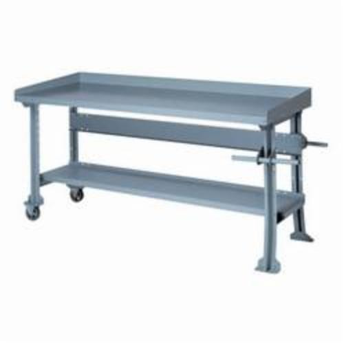 Lyon 2564 Portable Roll Around Workbench 72 In W X 28 In D X 34 In