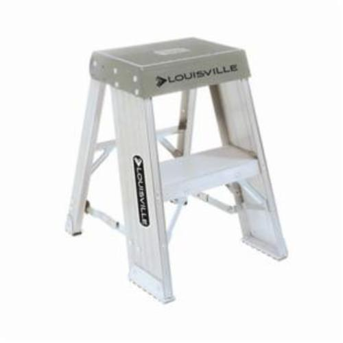 Enjoyable Louisville Ay8002 Light Weight Step Stool 2 Ft H 300 Lb Inzonedesignstudio Interior Chair Design Inzonedesignstudiocom